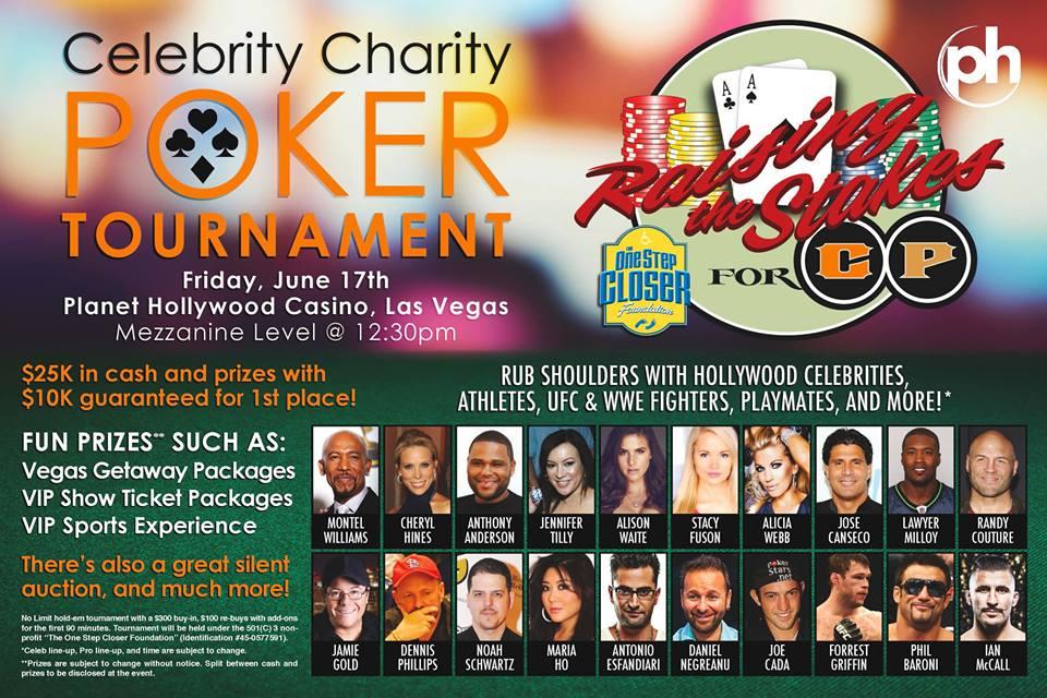 One Step Closer Foundation Celebrity Poker Tournament