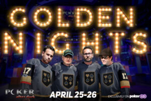 "Jamie Gold Returns to Poker After Dark for ""Golden Nights"" Week"